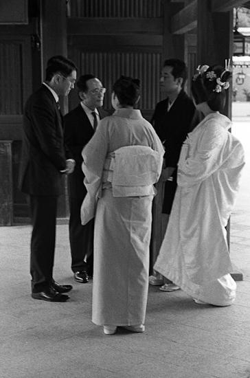 Traditional wedding, Tokyo (Japan)