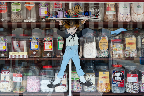 Sweet shop, Whitstable (UK)