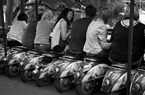 Eating out @ Camden Town, London