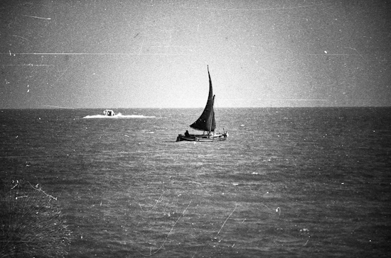 Sailing in San Benedetto del Tronto (Italy)