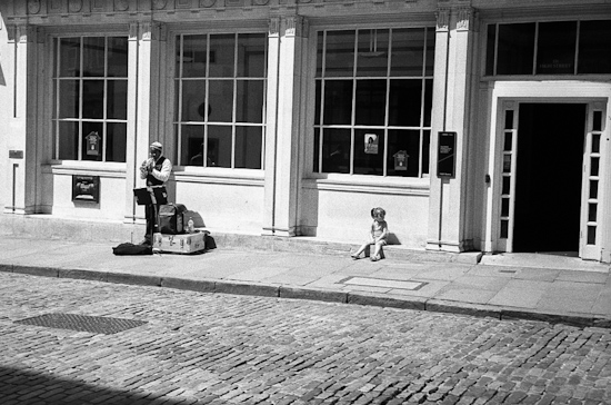 Busking, Guilford (UK)