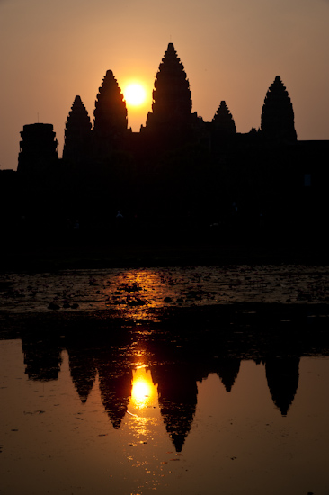 Sunrise at Angkor Wat (Cambodia)