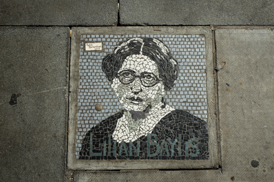 Southbank mosaic, London