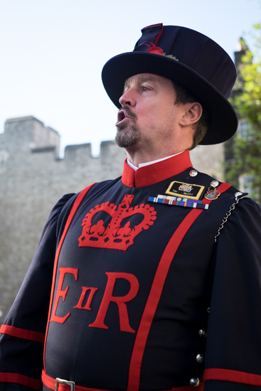 Yeomen Warder (Beefeater) @ Tower of London