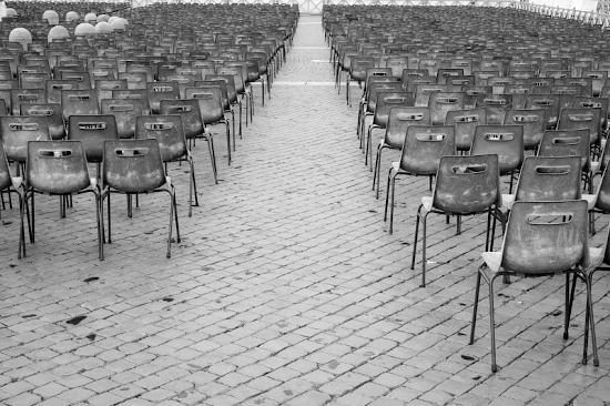 Empty seats, Vatican City