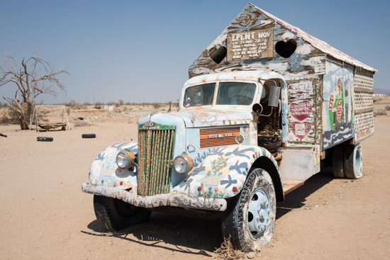 Salvation Mountain, Slab City (USA)
