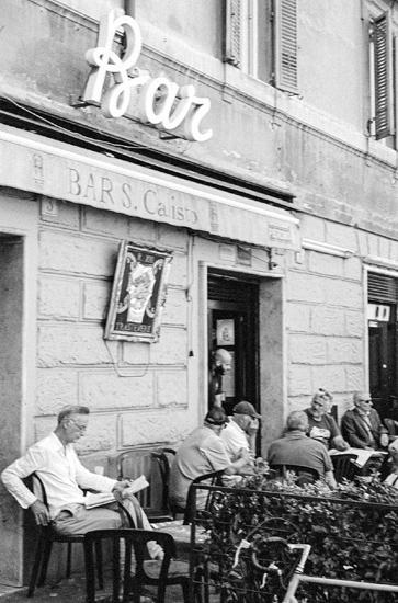 Bar S. Calisto, Rome (Italy)