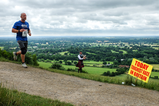 Toughest Race @ Box Hill, Dorking (UK)