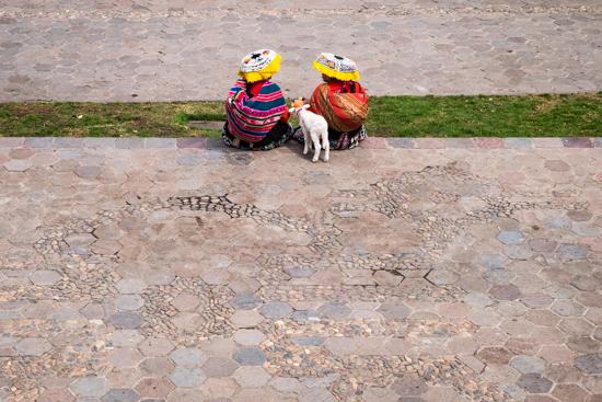 Resting, Cusco (Peru)