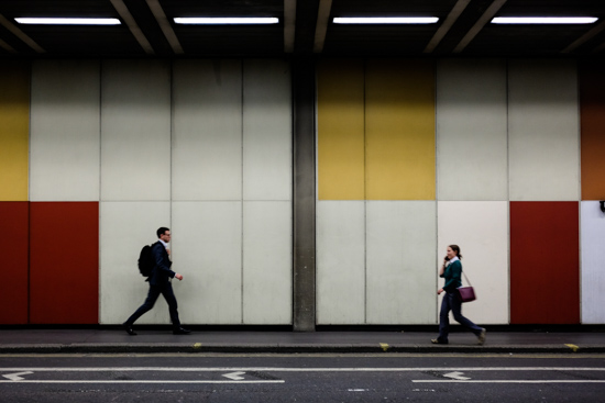 Barbican Underpass, London