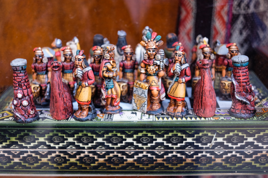 Inca Chess Board, Cusco (Peru)