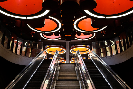 Pannenhuis Tube Station, Brussels (Belgium)
