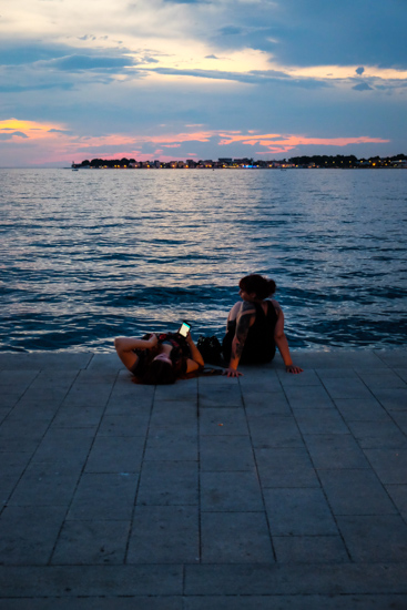 Sunset Relaxing, Zadar (Croatia)
