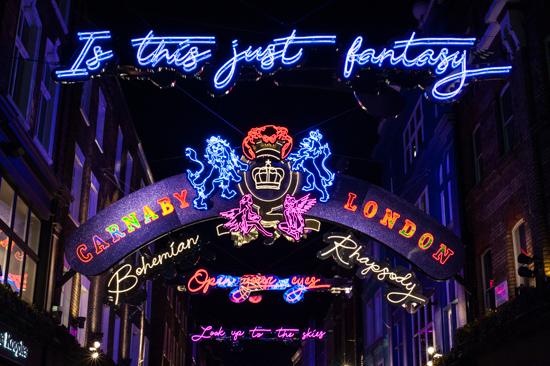 Carnaby Street Bohemian Rhapsody, London