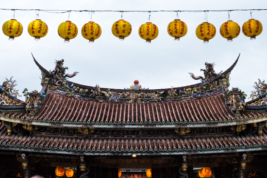 Dalongdong Baoan Temple, Taipei (Taiwan)