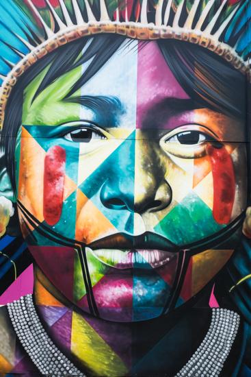 Eduardo Kobra Graffiti, Miami (USA)