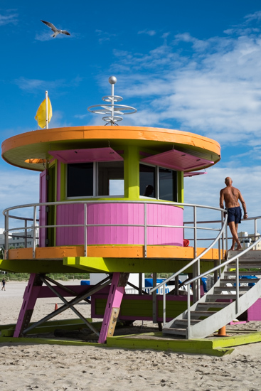 Lifeguard Huts, Miami (USA)