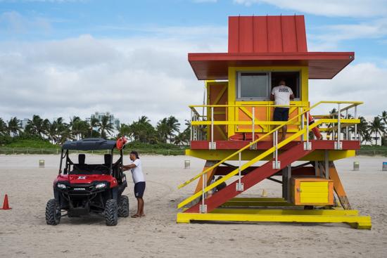 Lifeguard Huts, Miami (USA)