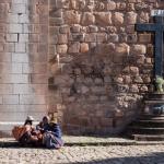 Chatting, Cusco (Peru)